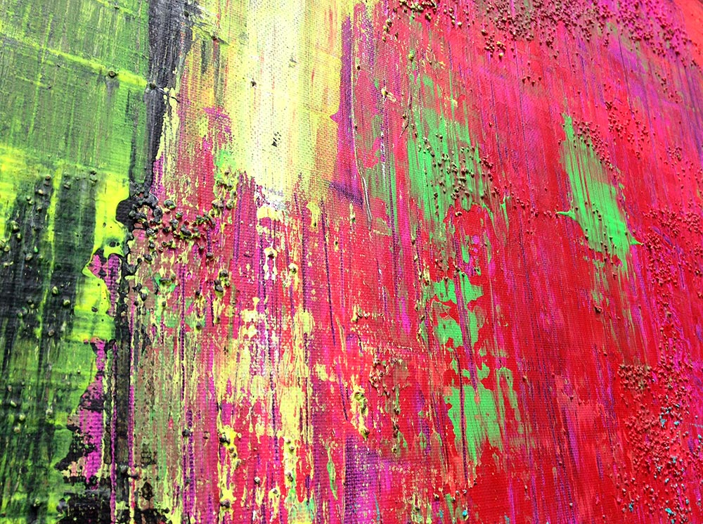 Multicoloured Explosion Detail Sandra Bergmann